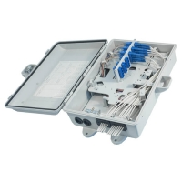 Buy cheap 24 Port Wall mount Fiber termination box from wholesalers