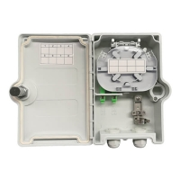 Buy cheap 2 Ports Lockable IP65 outdoor fiber distribution box from wholesalers
