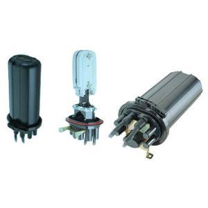 Quality 240 Cores Vertical Fiber Optic Splice Closure for sale