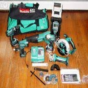 Quality Makitas LXT1500 18-Volt LXT Lithium-Ion Cordless 15-Piece Combo Kit / power Latest @$200/set for sale