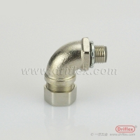 Buy cheap LIQUID TIGHT IP68 NICKEL PLATED BRASS 90 DEGREE ELBOW from wholesalers