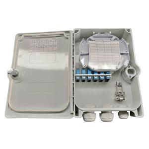Quality 12 Ports Waterproof Fiber Optic Terminal Box for sale