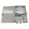 Buy cheap 12 Ports Waterproof Fiber Optic Terminal Box from wholesalers