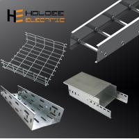 Quality Perforated Ladder Type Steel Wire Mesh Hot DIP /Pre-Galvanized Trunking Cable Tray for sale
