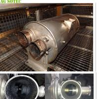China Clean The Particulate Filters DPF 264L Washer Chamber With Filtration Ultrasonic Power 3Kw Heaters Power 9Kw on sale