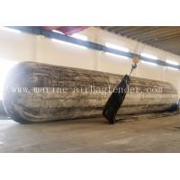 Quality D2.0m*EL20m 8 Layers High Strength Inflatable Rubber Marine Salvage Airbags for sale