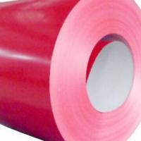 Quality Color-coated Coils, Available with 12 to 1250mm Width and 275gsm Zinc Coating for sale