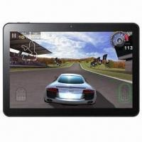 Quality 1,024 x 600p 10-inch Tablet PC, Allwinner A10 Processor, Android 4.0, 512M/4GB, Wi-Fi, 3G and Camera for sale