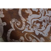 Quality Synchronized and Heavy Embossed Wallpaper European Style Italy Flower for sale