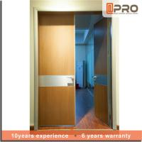 Quality Break Resistance MDF Interior Doors Eco Friendly With Handles And Hinge for sale