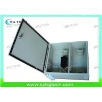Quality Outdoor 72Core Wall Mount Fiber Optical Distribution Box, SC/LC/FC/ST Adapter for sale