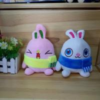 Quality Mixed stuffed plush for grab machine 6-7inches plush rabbit toys for sale