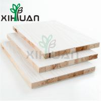 Quality Laminated Pine Wood Blockboard Cheap Price Customer Design High Quality Furniture Grade yellow/white/brown for sale