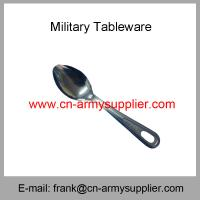 China Wholesale Cheap China Military Philippines Army Police Food Knife Spoon Fork on sale