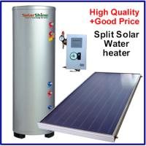 Quality Intelligent Split Solar Water Heater , Flat Panel Solar Water Heater SP-150-500L for sale
