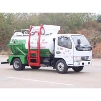 Quality Kitchen Restaurant Waste Removal Trucks Hydraulic Self Loading & Discharging for sale