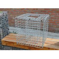 Quality Galfan Coated Steel Gabion Baskets Landscaping Rigid Structure High Strength for sale