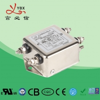 Quality 8A 2.5KW DC Power Noise Filter YD12D2 Aircraft Line Choke EMI Filter for sale