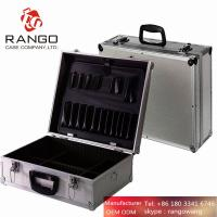 Quality Aluminium Flight Case Small Box Silver Camera Tool Carry Travel for sale