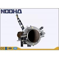 China 79kgs Pneumatic Pipe Cutting Beveling Machine For Chemical Plant on sale