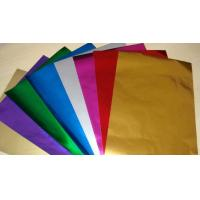 Quality Embossing Colored Aluminum Foil For Chocolate Wrapping Non Toxic / Hygienic for sale