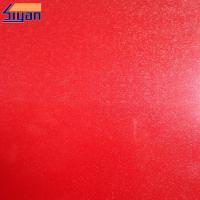 Professional High Gloss PVC Membrane Foil For Doors , Free Sample