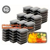 Quality Food grade plastic disposable plastic take away bento box with 4 compartment,Containers Plastic Leakproof Food Container for sale