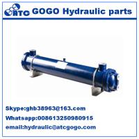 Quality Multi tube Type hydraulic oil cooler , heat exchanger hyd oil coolers KMCL10Y80 for sale