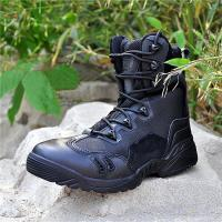 Quality New hot sale Tactical leather boot/army boot for sale
