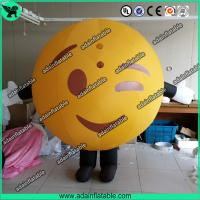 Quality Inflatable Mascot Costume Walking QQ Cartoon Inflatable for sale