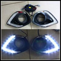 Quality Mitsubishi ASX SMD LED DRL Daytime Running Light with Turn Light Replacement LED fog lamps for sale