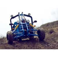 Quality Kandi Blue EEC Go Kart 150cc , Top Speed 65km/h On Mountain Road for sale