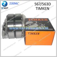 Quality 567/563D Timken Double Row Tapered Roller Bearing for sale