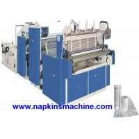 Quality 3 Layer Toilet Tissue Roll Slitting Rewinding Machine For Paper Making for sale