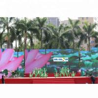 Quality SMD 2727 Outdoor Rental LED Display 38.5W Pixel Pitch 4.81mm 1/13 Scan Mode for sale