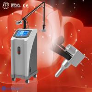 40W 10600nm Glass pipe Skin resurfacing Fractional CO2 Laser machine clinic