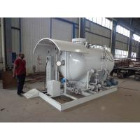 China 5cbm Propane Filling Station , 2.5tons Propane Lpg Skid Plant With Scale on sale