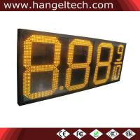 China LED Gas Price Sign Price List, 24 Inches Digits, High Brightness for Outdoor Use - 8.88 9/10 on sale