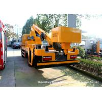Quality DFAC 20m Hydraulic Telescopic Aerial Platform Truck , Truck Mounted Bucket Lift for sale