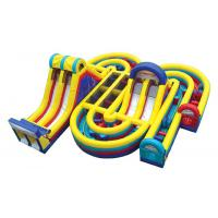 Buy cheap giant inflatable obstacle course, cheap obstacle course, obstacle course game from wholesalers