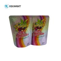 Quality Custom Printed Food Packaging Bags Zip Lock Aluminum Foil Laminated With Logo for sale