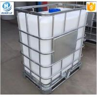 Quality Stackable rectangular stainless steel cubic used ibc containers for sale for sale