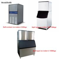 China Automatic Ice Cube Making Machine Commercial Fan Cooling One Year Warranty on sale