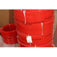 Quality HighTensile And Tear Strength  Red Polyurethane V Belt  for Conveyor  Floor And Roof  Tiles Conveying for sale