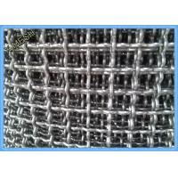 """Quality 1/2"""" X 1/2"""" Aluminum Mining Screen Mesh , Crimped Wire Mesh For Vibrating Screen for sale"""