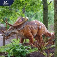 Buy Outside Mechanical Realistic Life Size Dinosaur Models For Exhibit at wholesale prices