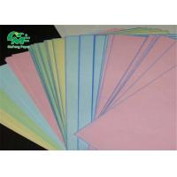 China 4 Ply Continuous Carbonless Printing Paper Rolls / Sheet Oem Color Size Logo on sale