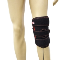 Quality FDA Infrared Heated Knee Brace , 24w Infrared Knee Heating Pad for sale