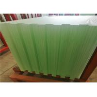 Quality Solar Energy Ultra Clear Tempered Glass Textured Solid Structure 3.2mm 4mm Thickness for sale