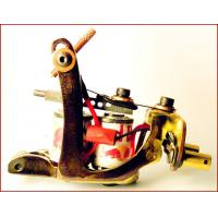 Quality Stainless Steel Manual 10 wraps coils handmade tattoo machines Gun for sale